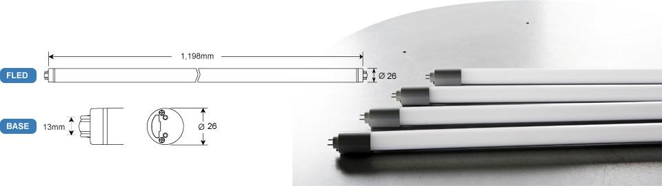제품의 치수 : 가로길이 총 1198mm